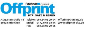 Logo Offprint DTP